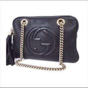 Authentic GUCCI Soho bag tassel Chain Shoulder Bag